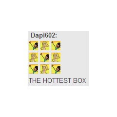Box of Hottest Characters