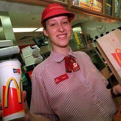 <b>GO:</b> McDonald's Worker