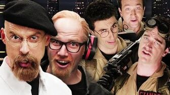 Ghostbusters vs Mythbusters. Epic Rap Battles of History Season 4