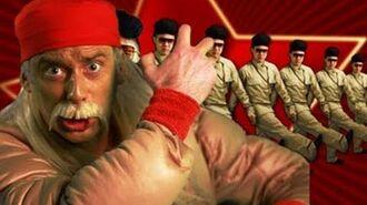 Hulk Hogan and Macho Man VS Kim Jong-il - Epic Rap Battles of History 5-0