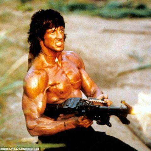 <b>How Rocky THINKS He Looks</b>