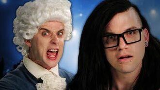 Mozart vs Skrillex. Epic Rap Battles of History Season 2.-0