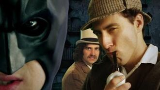 Batman vs Sherlock Holmes. Epic Rap Battles of History Season 2.-0