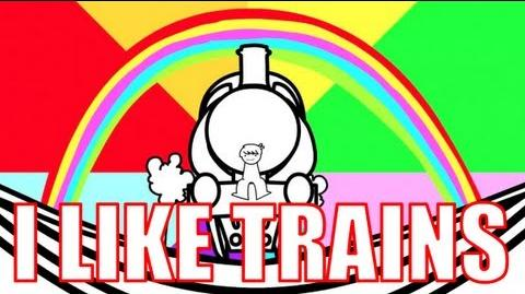 I LIKE TRAINS (asdfmovie song)