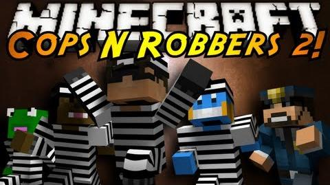 Minecraft Mini-Game COPS N ROBBERS 2!