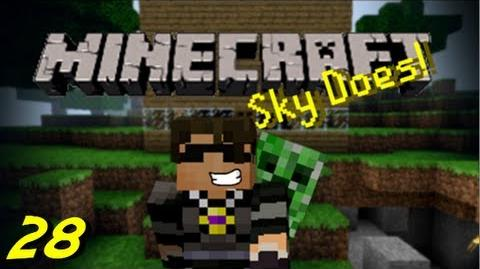 Sky Does Minecraft Episode 28 R.I.P Skyhub 2