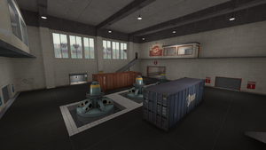 Turbine center area TF2