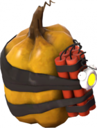 Pumpkin bomb model TF2