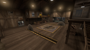 Sawmill (Capture the Flag) look of the center building TF2