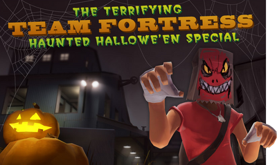 Haunted Hallowe'en Special banner TF2
