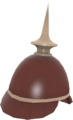Prussian Pickelhaube RED TF2.png