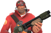 Soldier with the Helmet Without a Home TF2