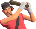 Scout doing the Home Run taunt TF2.png