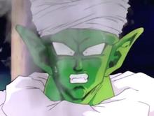 Piccolo teleported to Namek