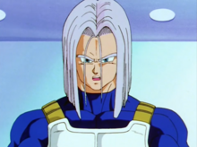 Future Trunks at Capsule Corporation