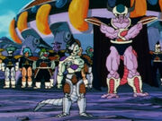 Freeza and King Cold on Earth