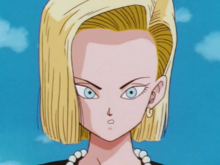Android 18 after Cell's transformation