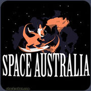 Shirt teamfourstar spaceaustralia MED