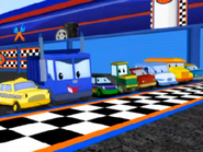 Dump truck race