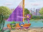 Plaid purple