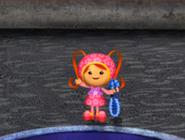 Milli's harness