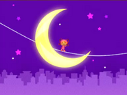 Tightrope over the moon