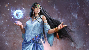 R169 457x256 20401 The Goddess Naaz 2d fantasy girl woman portrait goddess picture image digital art