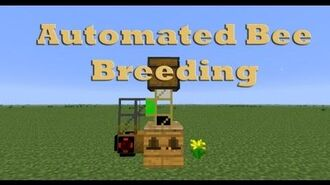 Feed the Beast - Automated Bee Breeding - Tutorial