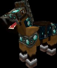 Diamond-horse-armor