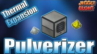 Pulverizer (Thermal Expansion) - Minecraft Mod Tutorial