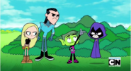 Beast Boy trying to bring back the music
