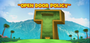 Open Door Policy Title Card