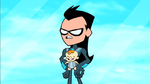 Nightwing and baby