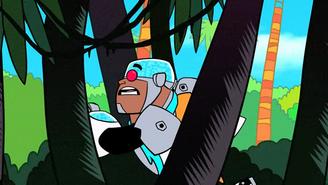 Cyborg running
