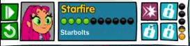 Starbolts Icon (Titans Most Wanted)