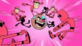 Cyborg gets a Strike