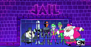 Thestreak DC villians in jail