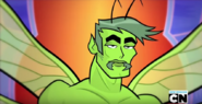The Croissant Handsome moth Beast Boy