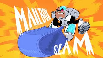 Cyborg Mailbox Attack