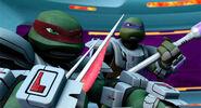 Dimension X Raphael Without Helmet