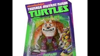 TMNT 2012 Dogpound (2012 Action Figure) Review