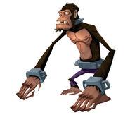 Monkey Rockwell Art