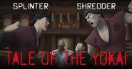 Tale Of The Yokai Shredder Splinter