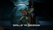 Scroll Of The Demodragon Title Scene
