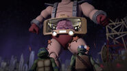 Krang Behind 1987 Leonardo And Leonardo