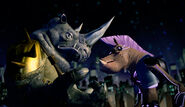 Bebop And Rocksteady On Rooftop