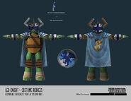 Leo The Knight Concept Art