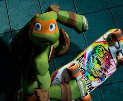 Skateboard (Michelangelo)