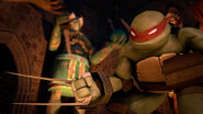 Raphael With Gauntlets