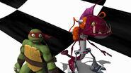 Fishface And Raphael Inside The Maze Of Doom